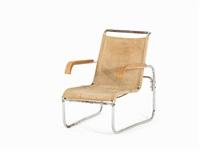 club armchair b 35 by marcel breuer