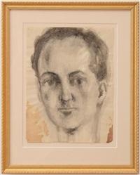 untitled (portrait head) by pavel tchelitchew