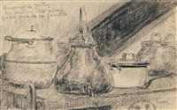 nature morte by james ensor