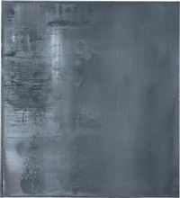 grey (grau) by gerhard richter