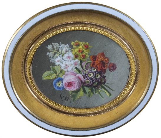 bouquet de roses jonquilles et lilas by jan frans van dael