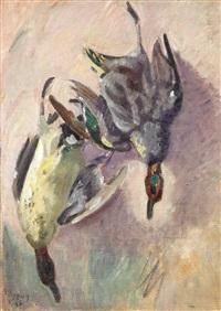 nature morte aux canards by jean puy