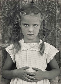 livia, 1948 by frederick sommer