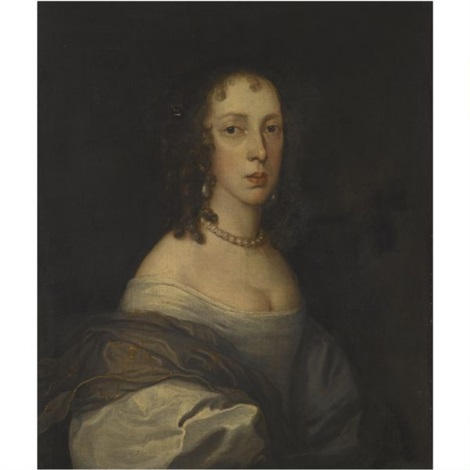 portrait of a lady, said to be jane lane, lady fisher by john hayls