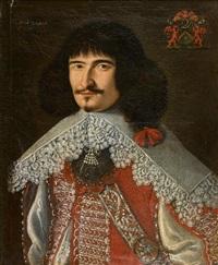 portrait d'homme à l'habit rouge by french school (17)