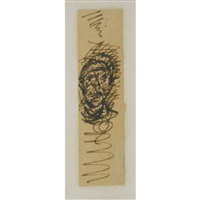 tête d'homme by alberto giacometti