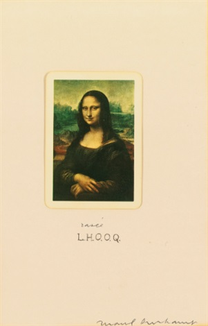 l h o o q shaved by marcel duchamp