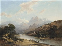 st. meurice on the rhône by charlotte nasmyth