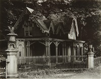 gothic gate cottage near poughkeepsie, new york by walker evans