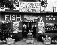 fish market near birmingham, alabama by walker evans