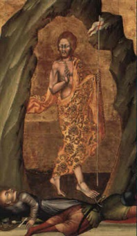 the resurrection of christ by giovanni di paolo