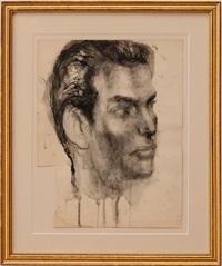 untitled (portrait) by pavel tchelitchew