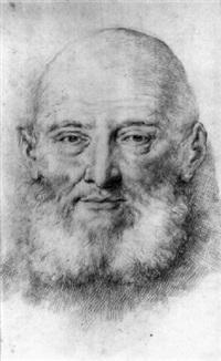 tête d'homme barbu by jacques-andré portail