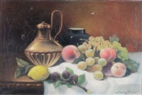 nature morte aux fruits by michel révol