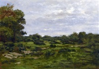 clairière à igny by antoine chintreuil