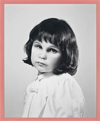 self-portrait at three years old by gillian wearing