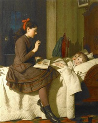 the bed time story by seymour joseph guy
