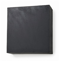 untitled black square #1 by noriyuki haraguchi