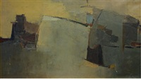 abstraction by alain de la bourdonnaye