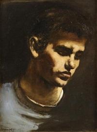 head of a boy by walter stuempfig