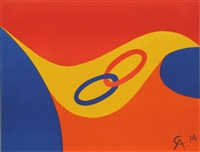 flying colors 2 by alexander calder