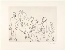 santa claus. le père noël, moralité (bk by e.e. cummings w/9 works) by alexander calder