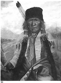 sioux indian by henry metzger