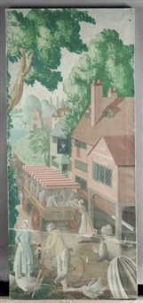 an english holiday - village inn by mary adshead