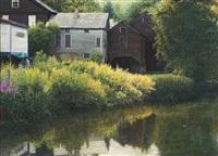 sackett's brook, putney, vt by wally ames