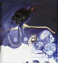 baudelaire's bird by brett whiteley