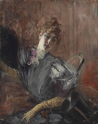 portrait of a lady by giovanni boldini