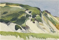 dune at truro by edward hopper