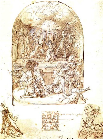 the martyrdom of st catherine by tiburzio passarotti