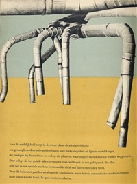 50 jaar bruynzeel 1897-1947 - 50 years of bruynseel (bk w/156 works, 25 illustration & text by martin redeke, folio) by carel blazer
