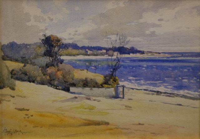 mentone beach by theodore penleigh boyd