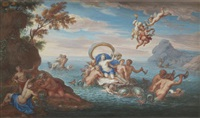 le triomphe d'amphitrite by noël nicolas coypel
