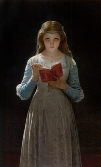 a pause for thought by pierre auguste cot