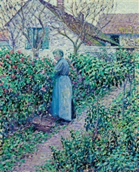 in the garden by louis ritman