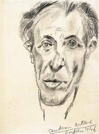 portrait de pirre loeb by antonin artaud