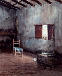 interior con silla by francisco mir belenguer