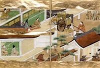 heike monogatari - the tale of the heike war by japanese school-tosa (17)