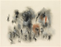 untitled (figure composition) by norman lewis