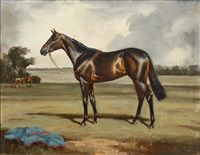 a racehorse by raoul millais