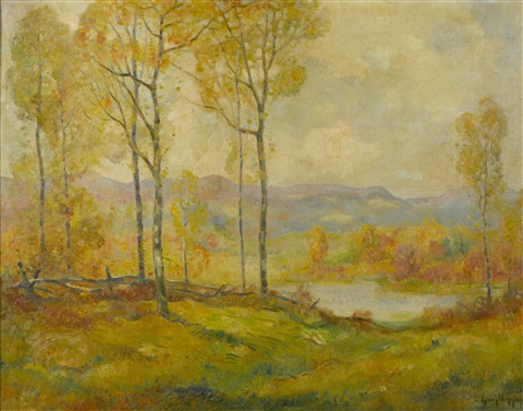 on new england hills by guy carleton wiggins