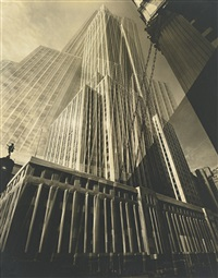 the maypole (empire state building) by edward steichen
