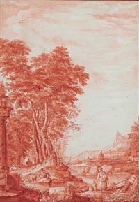 paysage by jean-jacques de boissieu
