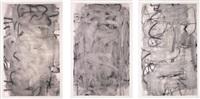 three women (medium i, ii, iii) (set of 3) by christopher wool