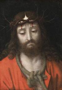 la christ aux outrages ou ecce homo by andrea solario
