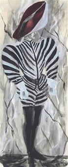 courtier: the zebra by pavel tchelitchew