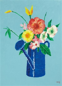 flower by ahn chang-hong